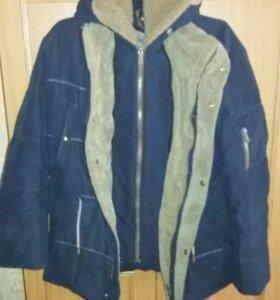 Зимняя муржская куртка