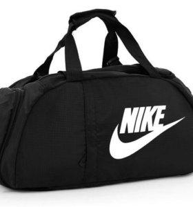 Сумка рюкзак Найк Nike чёрная