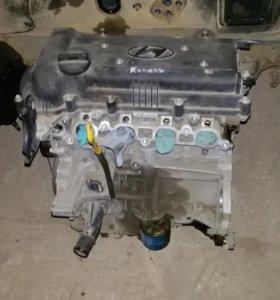 Двигатель Kia Rio Hyundai Solaris