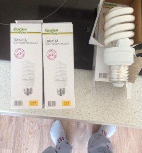 Лампочка энергосберегающая е27