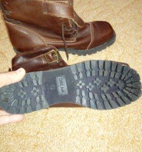 Ботинки новые, натуралка