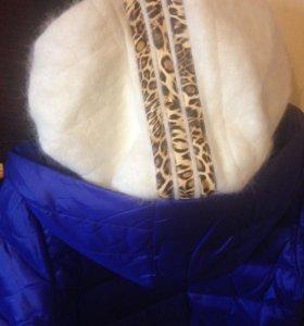 Пальто пуховик новая