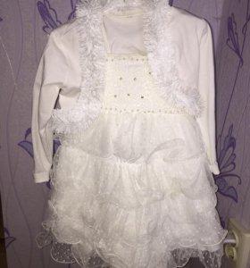 Платье готовый костюм снежинки