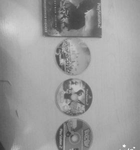 Диски для PlayStation 2-3