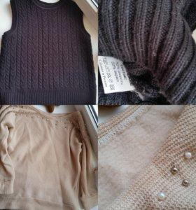 Одежда (платье,  туника,  свитер,  безрукавка)