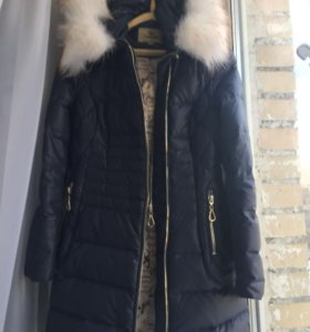 Зимнее пальто, пуховик (пух-перо)