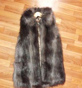 Продам полушубок, жилет, пальто, куртку
