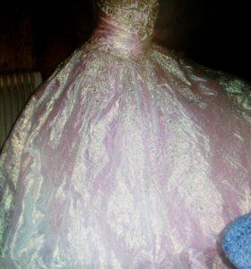 Свадебное платье хамелеон