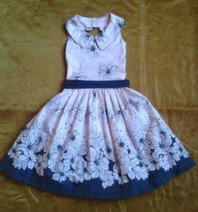 Платье детское х/б