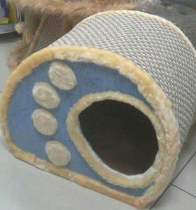 Домик, игровой комплекс, когтеточка для кошки.