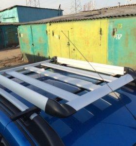 Алюминиевая багажная корзина на багажник авто