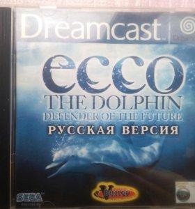 """Sega Dreamcast """"ECCO THE DOLPHIN"""""""