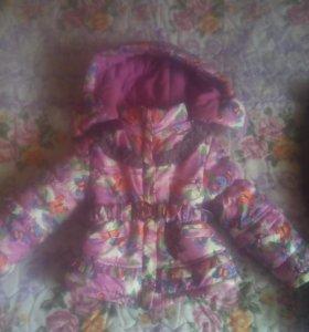 Зимний костюм для девочки 89619486619