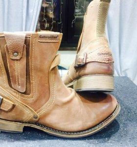 "Сапоги, ботинки кожаные ""Caterpillar """