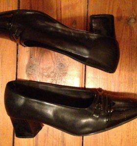 Туфли кожаные, Р. 39