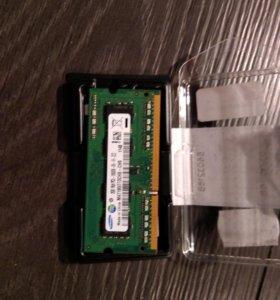 Оперативная память SO-dimm DDR3 Samsung 2gb