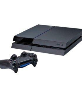 Игровая приставка sony PS4