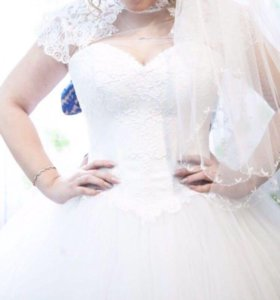 Свадебное платье Barsonini