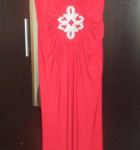 Платье в пол, длинное платье