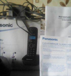 Беспроводной домашний телефон трубка Панасоник