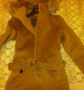 Демисезонное пальто унисекс 44-46 размера
