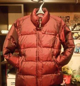 Зимняя пуховая куртка-дутик (женская)