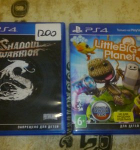 PS4 Shadow Warrior и Littlebigplanet 3