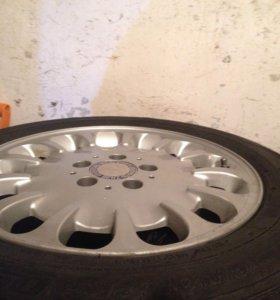 Комплект колёс : резина лето + литые диски