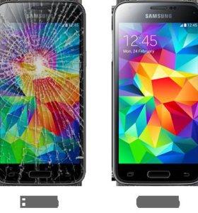 Замена стекла Samsung S4 и другие модели