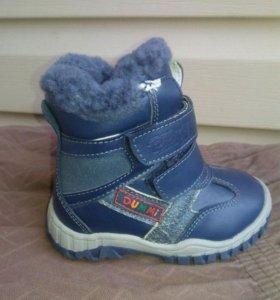 ботиночки новые зимние