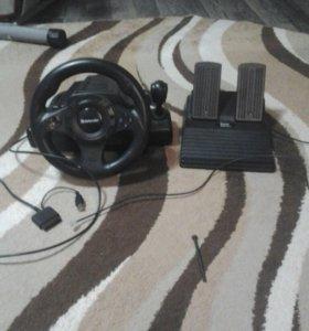 Компьютерная приставка игровой руль