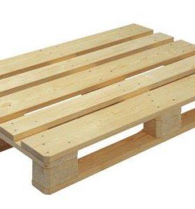 Вывоз деревянных поддонов бу, лом