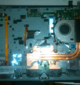 Клавиатура и Верхняя часть корпуса ноутбука v5-551