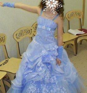 Платье для девочки 6-10лет.