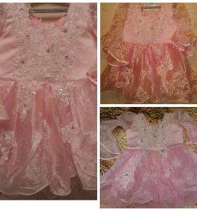 Платье на 3-5лет