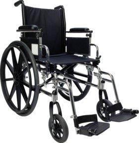 Инвалидное кресло + ходунки для взрослых на колеса