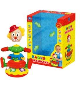 Клоун-пирамидка