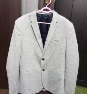 Мужской Новый пиджак Zara, XXL