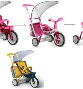 Велосипед трехколесный Italtrike Evolution 3 в1