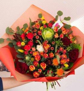 Доставка цветов, букет невесты