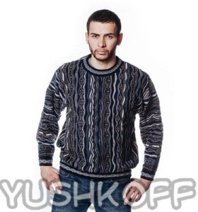 Мужской свитер YUSHKOFF