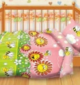 Детское постельное белье, новое