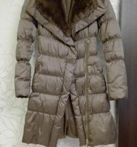 Пальто-пуховик, размер 42