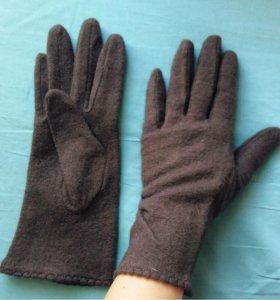 Шерстяные перчатки 7 размера