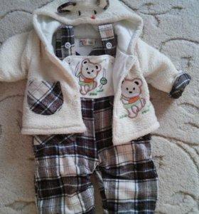 Детский костюм, теплый