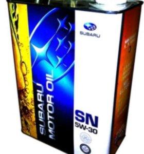 "Масло моторное "" Subaru Motor Oil SN 5w30 "", 4 л"
