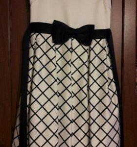 Платье для стройной девочки