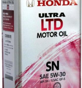 Honda ultra LTD SN/GF-5 SAE 5W30 (4л)