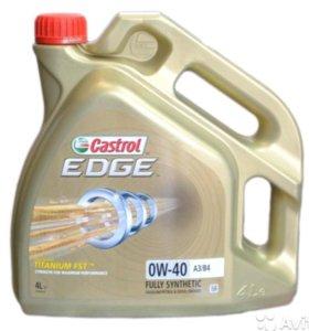 Масло моторное Castrol Edge Titanium FST 0W-40 4 л