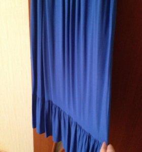 Летнее платье в пол 46-48 размер